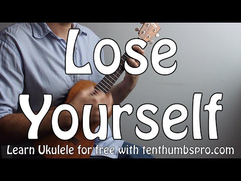 Lose Yourself - Eminem - Easy Ukulele Hip-Hop Song Tutorial