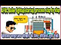 Successfully boiler light up with the using of charcoal ....(hindi)