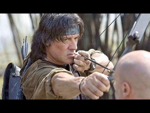 The great Archer Rambo: Rambo movie Archery scene (1080p HD)