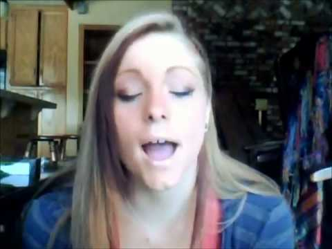 Deaf Girl singing Someone like you