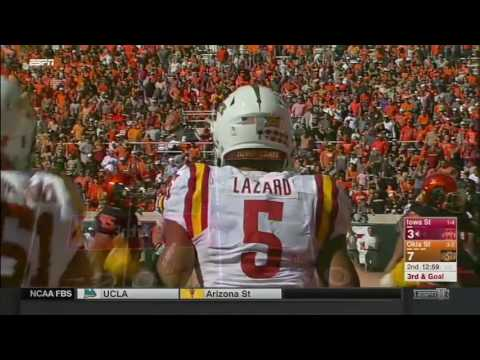 Iowa State at Oklahoma State | 2016 Big 12 Football Highlights