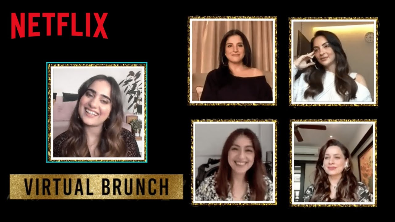 @Kusha Kapila Hosts A Virtual Kitty Party | Fabulous Lives of Bollywood Wives | Netflix India