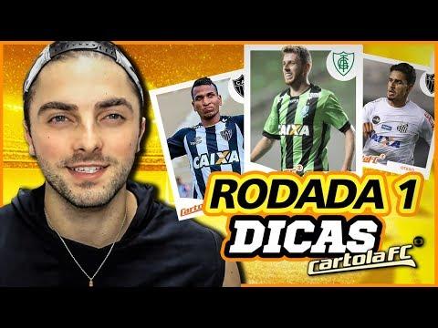 O MELHOR TIME PARA COMEÇAR - CARTOLA FC 1° RODADA