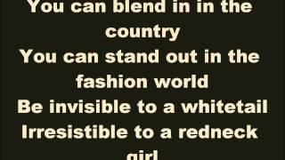 Camouflage Lyrics - Brad Paisley