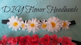 DIY Flower Headbands Thumbnail