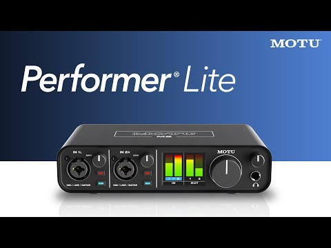 Performer Lite: getting started