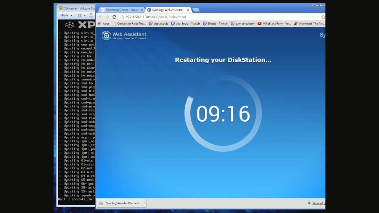DSM Synology VMware