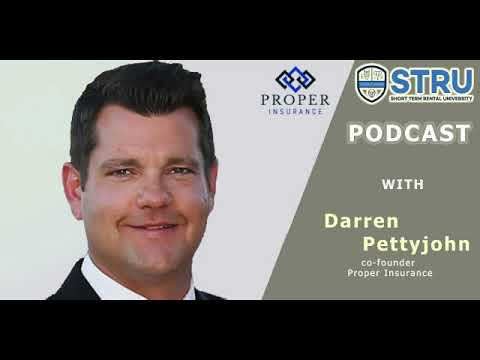 Insights On Airbnb/HomeAway Insurance From Proper Insurance co-founder Darren | STRU Podcast 014