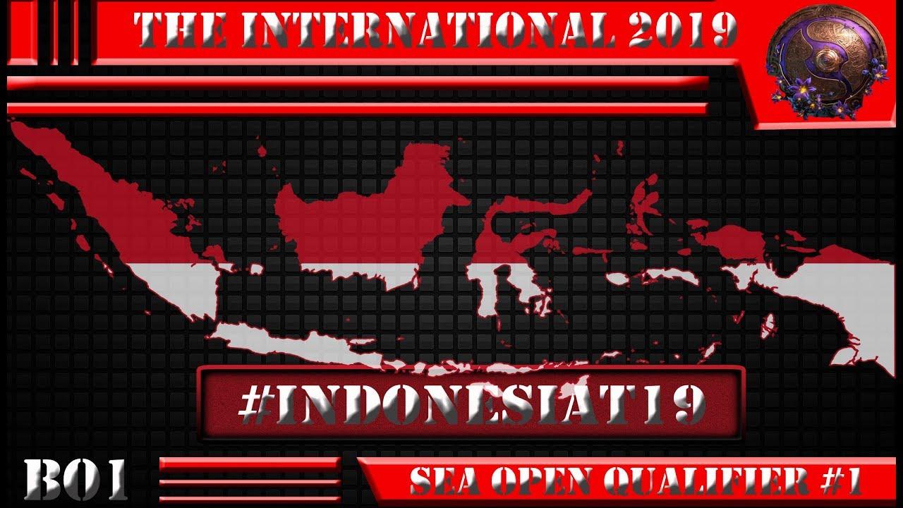 LIVE- DOTA 2 #The International 2019: SEA Open Qualifier #1