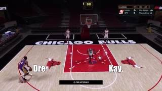 DREandKAY PLAY HORSE WITH KOBE AND MJ! NBA 2K16