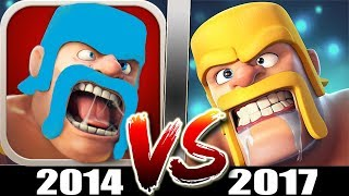 Video Starting Clash of Clans in 2014 Vs 2017 | Old CoC Vs New CoC - What Has Changed? download MP3, 3GP, MP4, WEBM, AVI, FLV Oktober 2017