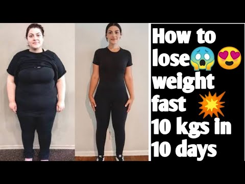 Fast Weight Loss Drink || Loose 10kg in 10days | DIY Home Remedy Weight Loss Drink 100% Result