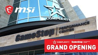 Complexity Gaming's New HQ | GameStop Performance Center | MSI