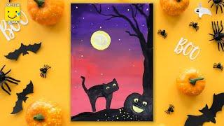 Как нарисовать рисунок к Хэллоуину?