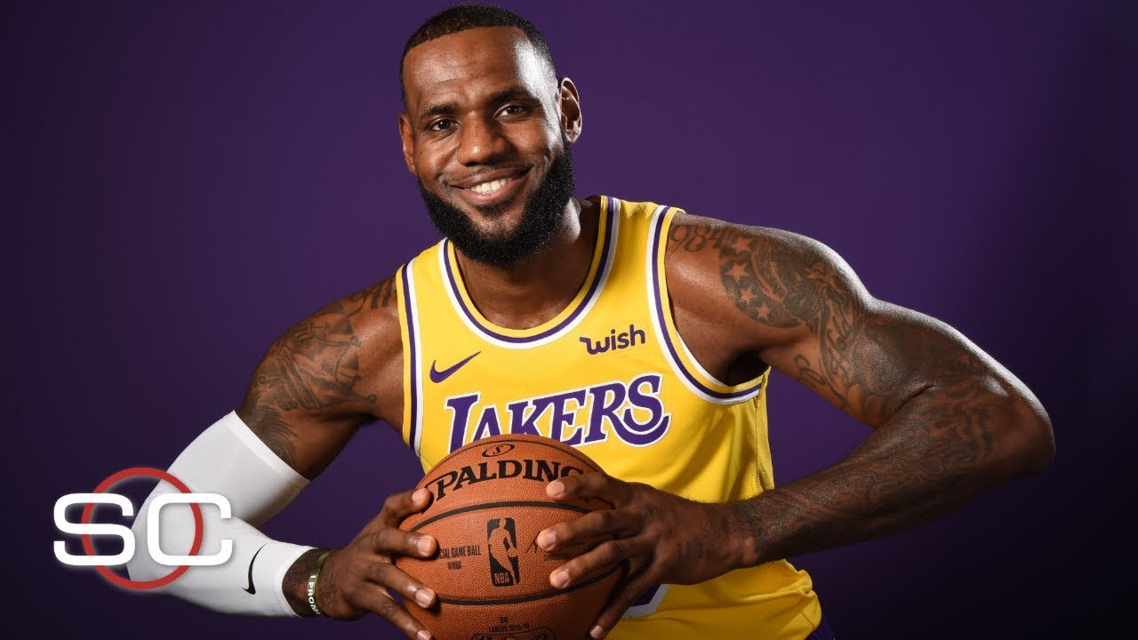 265ffdc77e5 Stephen A. reacts to LeBron joining the Lakers   describes impact on Kawhi  Leonard