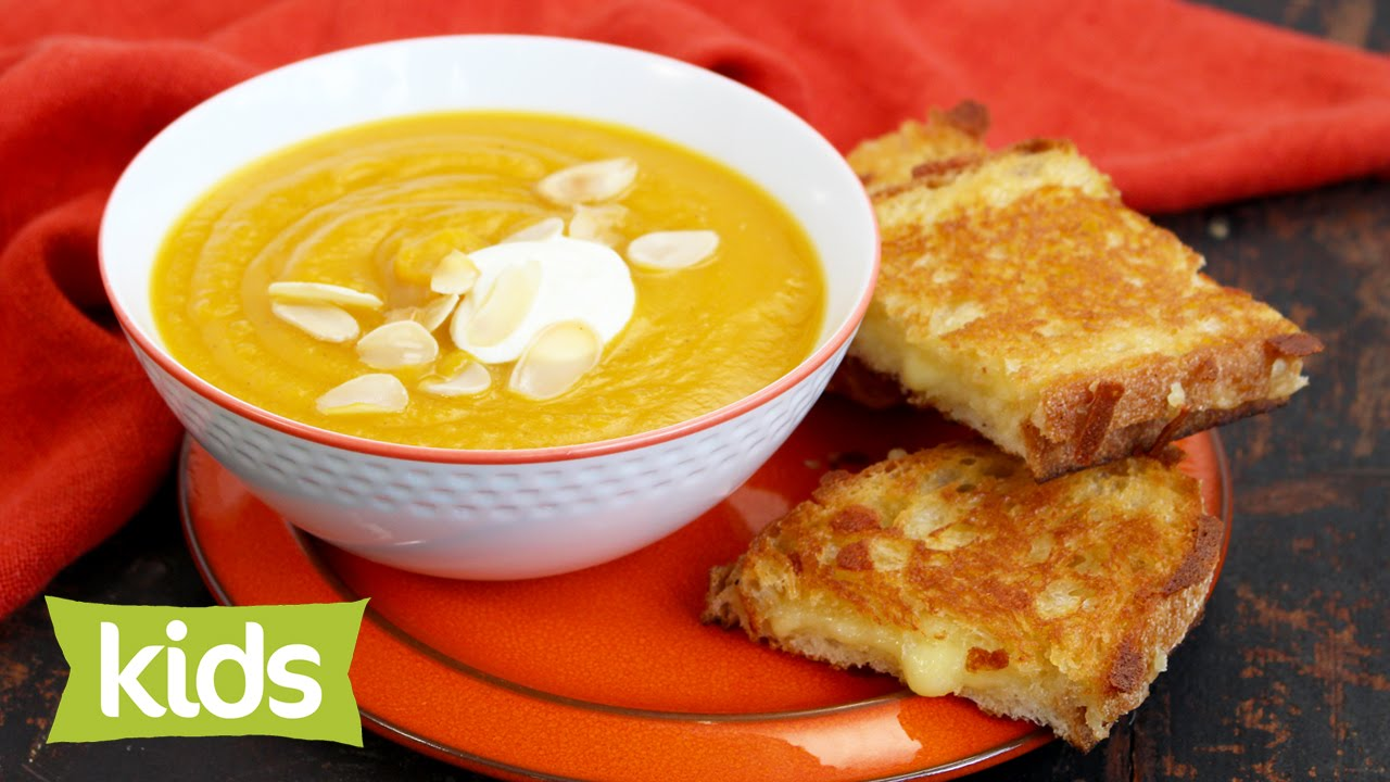 Easy pumpkin soup recipe with pan cheese toasties youtube easy pumpkin soup recipe with pan cheese toasties forumfinder Image collections