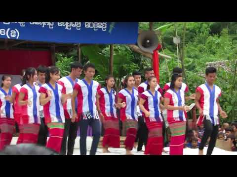 Karenni Traditional Dance By KnNC Student (DeeKu Festival Camp 1 2017)