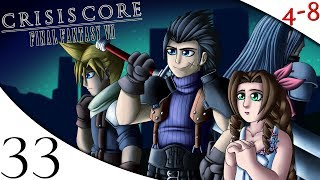 Let's Play Crisis Core: Final Fantasy VII (Part 33) [4-8Live]