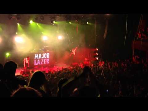 Major Lazer - Berlin 14.11.2013 - Watch Out For This, Pon De Floor