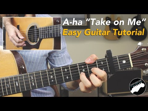 "Easy Song for Guitar | A-ha ""Take On Me"" Acoustic Lesson"