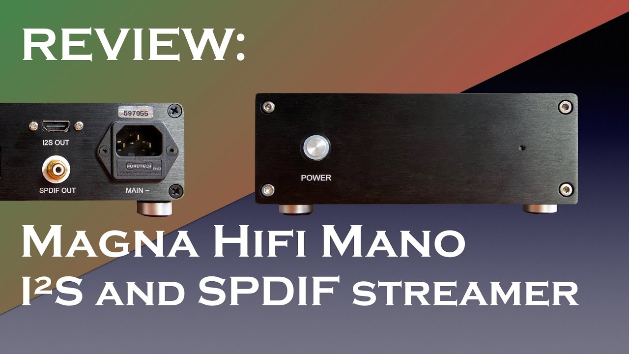 Mano Music Streamer (High-Res)