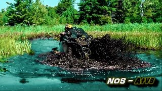 Video Xtreme Mud Trail.  (Can Am Renegade 1000, Outlander 1000, Yamaha Grizzly) download MP3, 3GP, MP4, WEBM, AVI, FLV Januari 2018