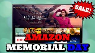 Amazon Memorial Day Sales. Big…