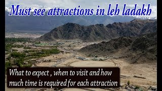 LEH LADAKH travel guide and tips