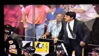 Mario Lemieux goal vs Boston
