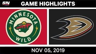 Anaheim Ducks vs. Minnesota Wild - Game Highlights