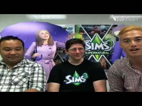 The Sims 3 Supernatural And Seasons Live Chat TheSimsSuper