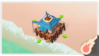I Finally Did it! Boom Beach HQ Upgrade! (Low Level Strategy) (F2P #2)