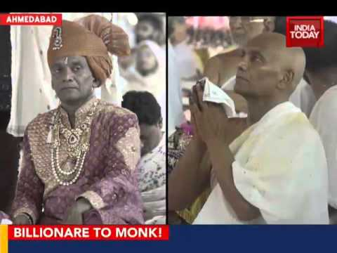 Billionaire gives up empire to become Jain monk