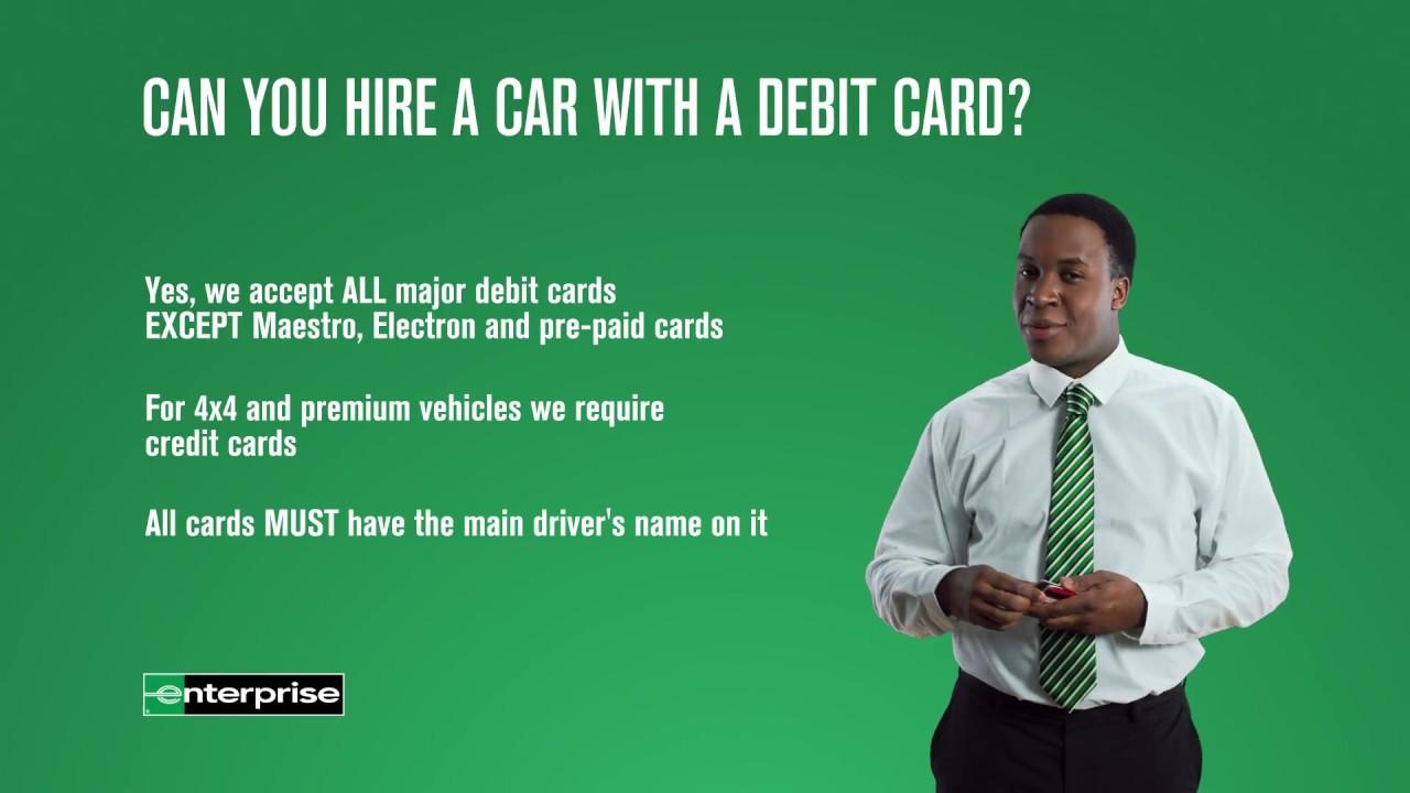 rental essentials episode 2 the debit card enterprise rent a car - Rental Car Places That Accept Debit Cards