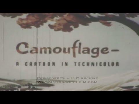 WALT DISNEY WWII CARTOON   CAMOUFLAGE    ARMY AIR FORCES 2798