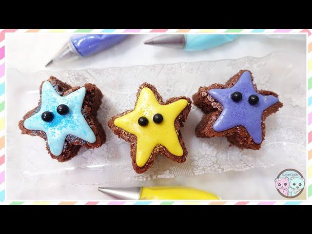 KAWAII STAR CHOCOLATE RICE FLOUR POUND CAKE, GLUTEN-FREE DESSERT IDEAS
