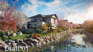 Sun Onsen Village - Biêt thự nghỉ dưỡng chăm sóc và phục hồi sức khỏe chuẩn Nhật - Tân Thời Đại