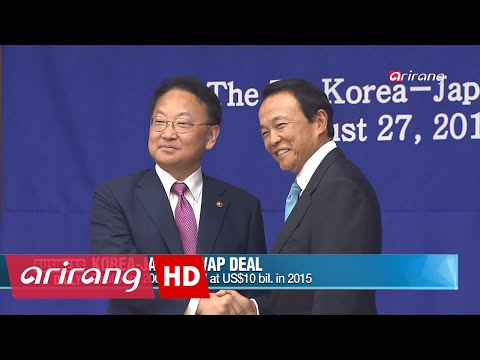 Business Daily _ Korea-Japan swap deal