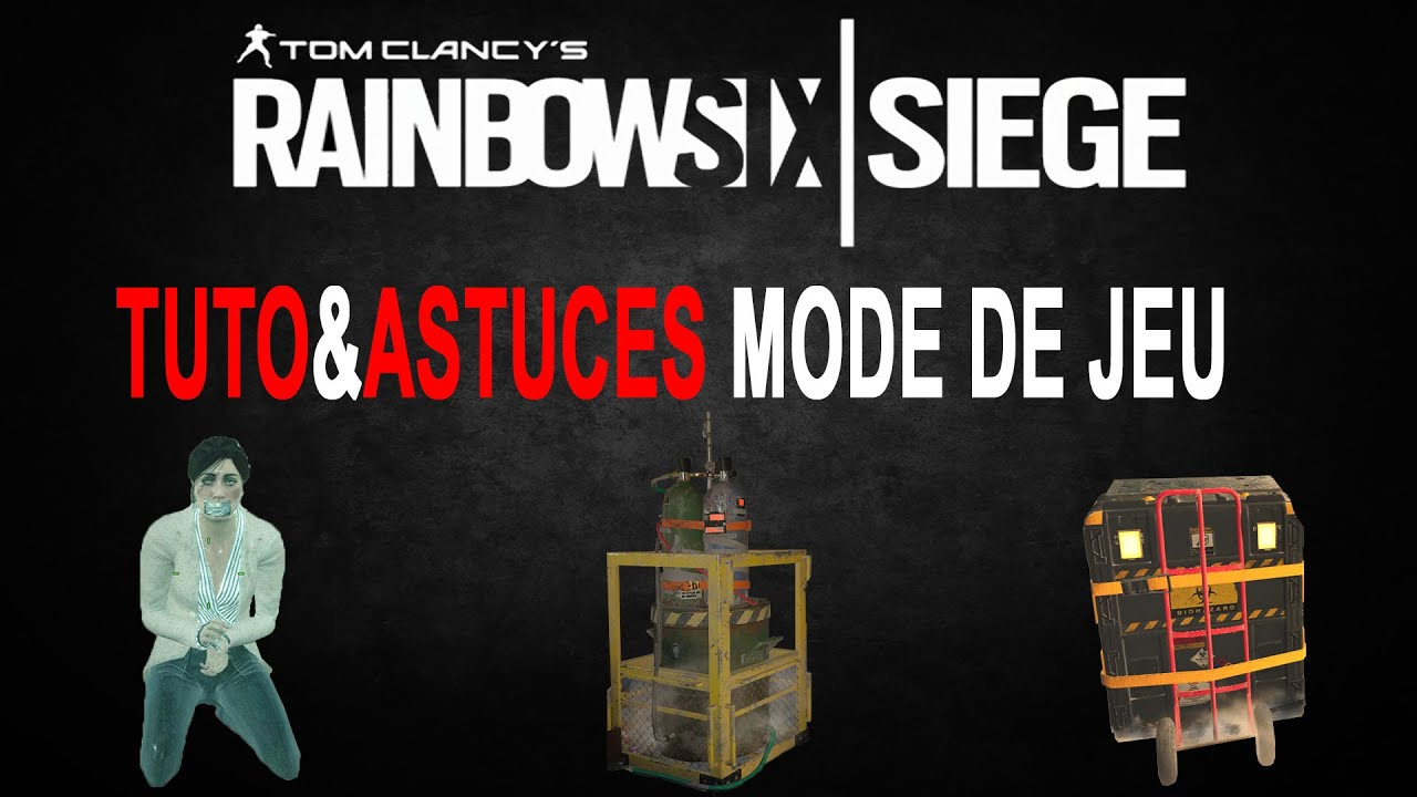 tuto astuces mode de jeu rainbow six siege youtube. Black Bedroom Furniture Sets. Home Design Ideas