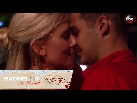 Danielle M. and Wells Kiss - Bachelor In Paradise