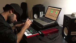 Making a hard trap beat out of people's voices