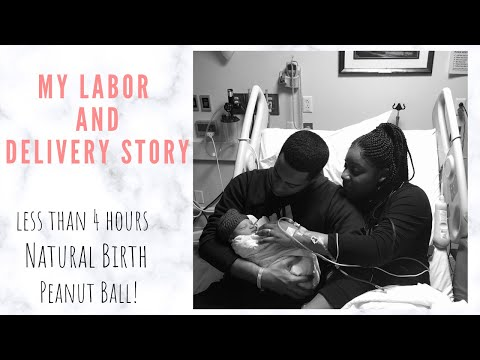 My 4 hours Labor Experience I Natural Birth
