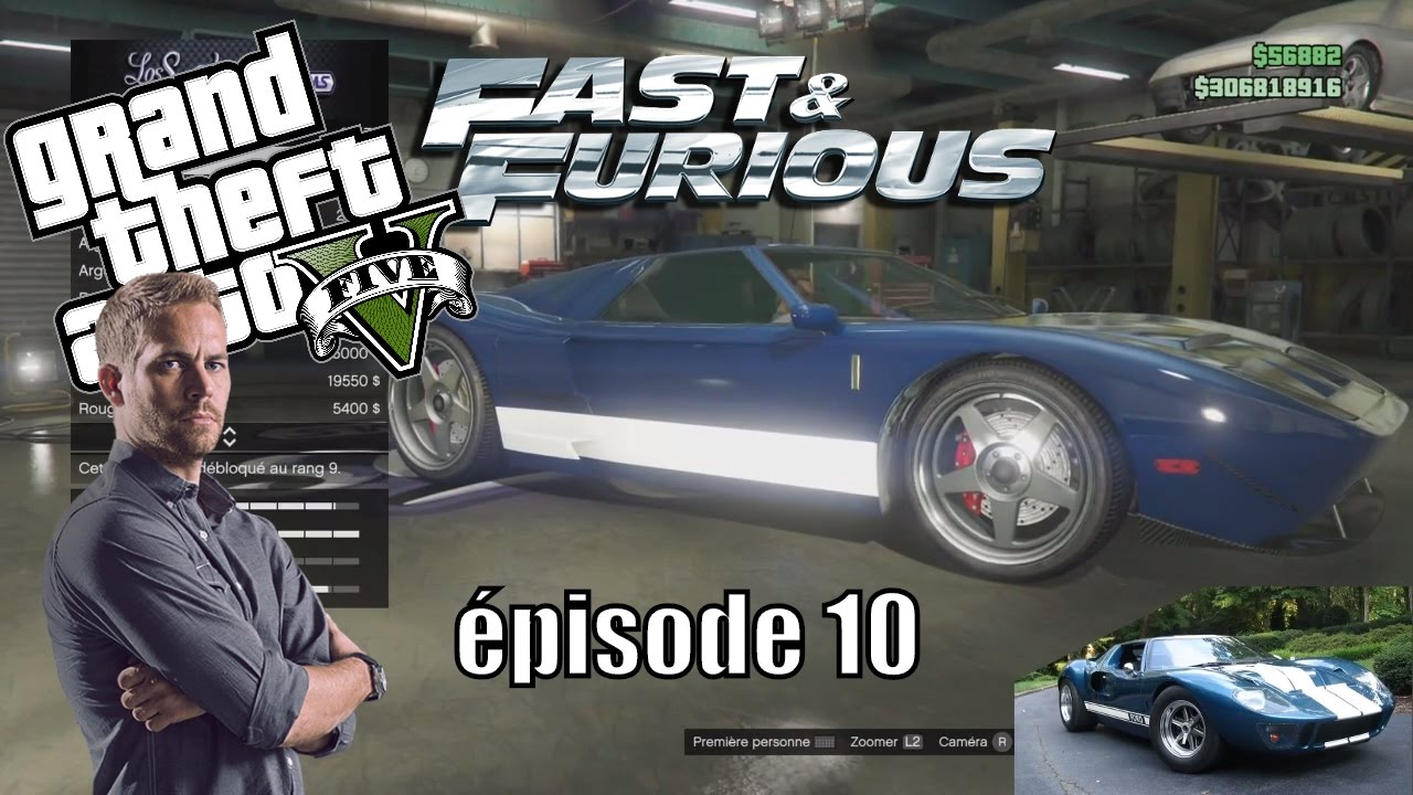 fast and furious dans gta 5 online avoir les voitures de brian pisode 10 mrjksaw youtube. Black Bedroom Furniture Sets. Home Design Ideas
