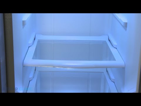 Upper Glass Shelf - Whirlpool Barracuda Refrigerator (Model WRS325FDAM04)