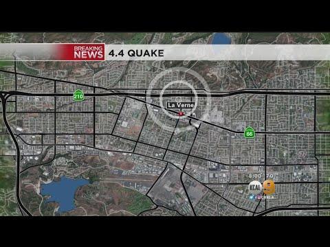 4.4 Quake Strikes La Verne