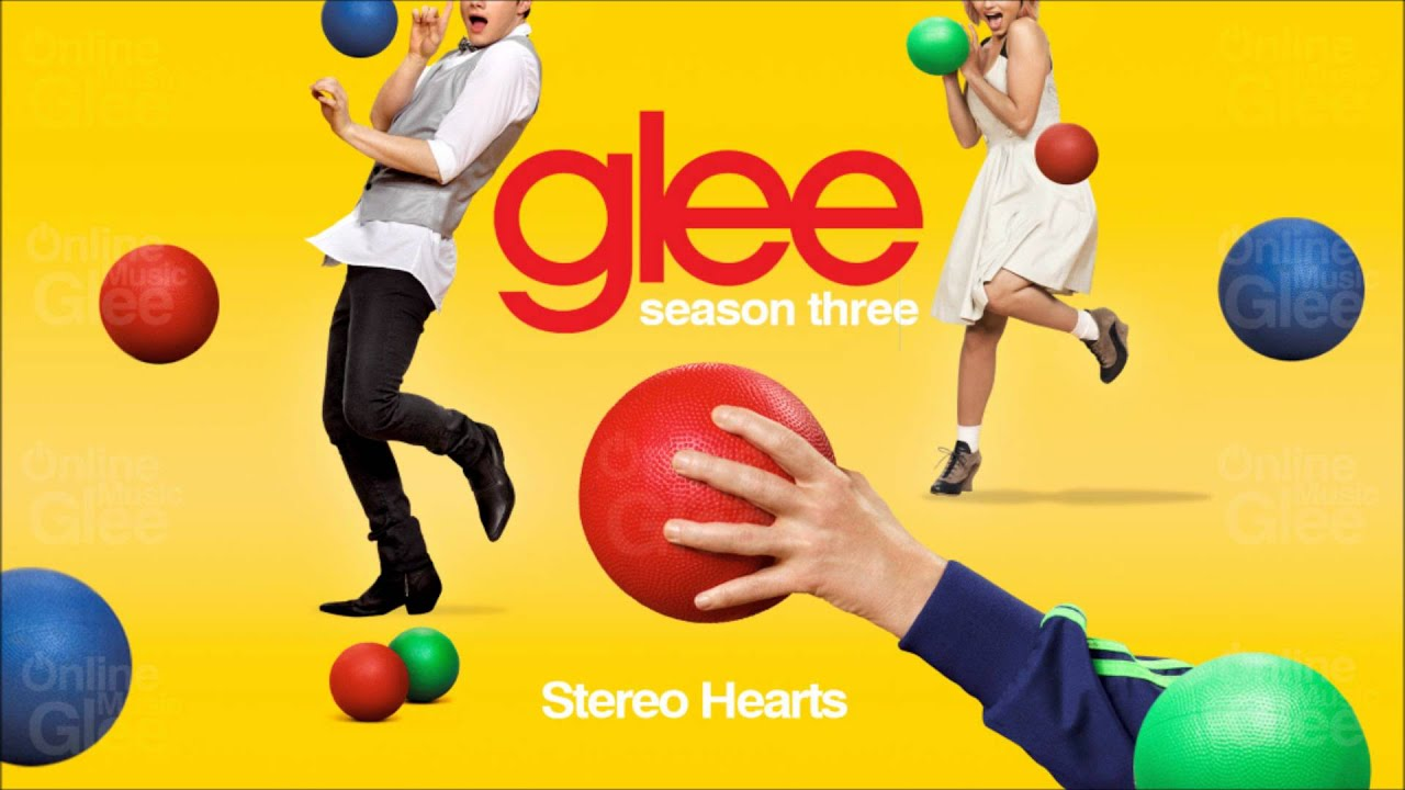 Stereo Hearts Glee Hd Full Studio Youtube