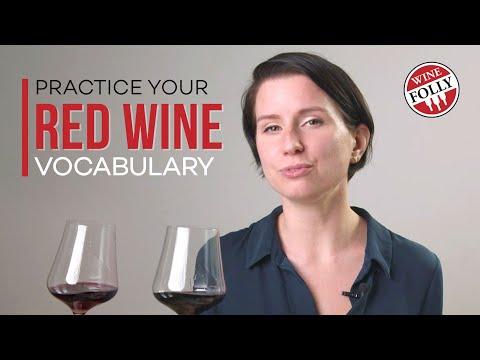 Red Wine Vocabulary | Wine Folly