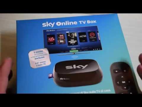 Sky Online TV Box: unboxing, collegamento e prime impressioni