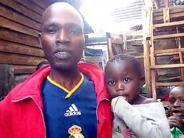 Brother Enos Worshipping with Kibera Slum Children WFF-GMFC Fellowship