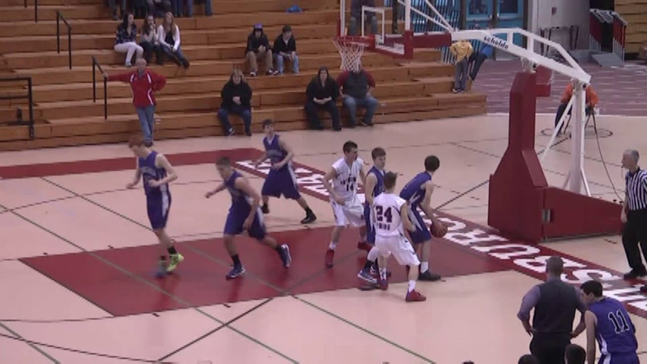 Ticonderoga - AuSable Valley Boys C Final  3-2-13